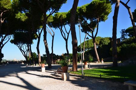 Rome, nature park. September 2014 Stock fotó