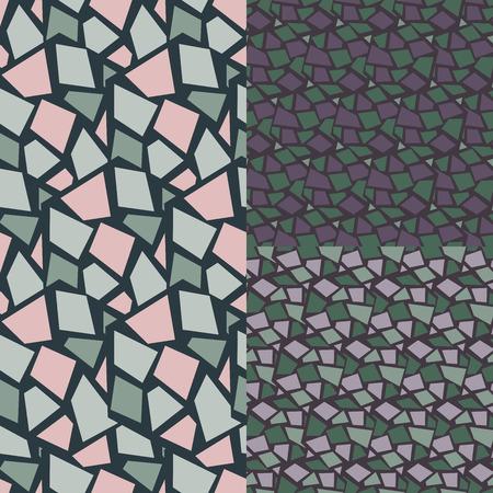Seamless pattern. Rhombus stylish background.