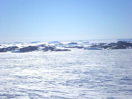 antarctica ice icebergs sea snow winter day travel