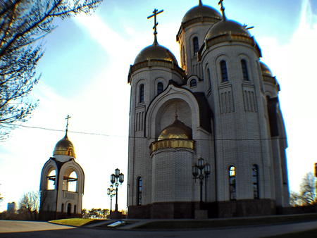 Stalingrad, Volgograd, Architektura