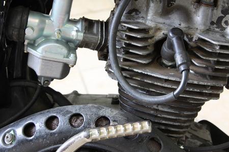 engine: motorcycle engine Stock Photo