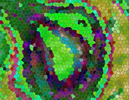 abstracte kunst Stockfoto