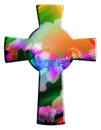 christian cross Stock Photo