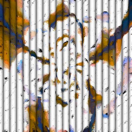 Abstracte Kunst - Rol van de Vlinder