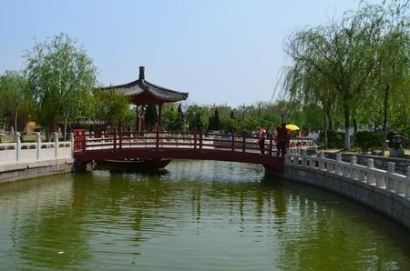 landscape riverside: Qingming River Park