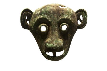 Copper harness human face