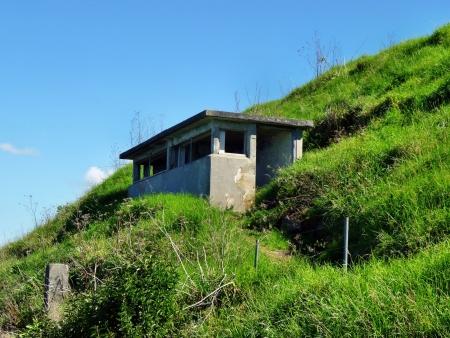 australasia: Historic military observation post on Auckland