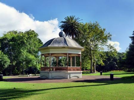 australasia: Pavilion in the Auckland Domain Editorial