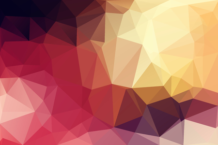 Colorful Low Polygon Random Triangle Abstract Stock Photo