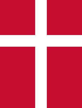 large size: Official Flag of Denmark Flat Large Size Vertical