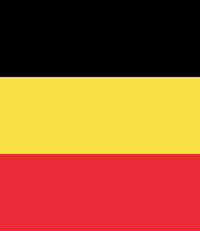 large size: Official Flag of Belgium Flat Large Size Vertical