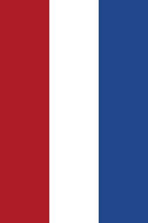 large size: Official Flag of Netherlands Flat Large Size Vertical
