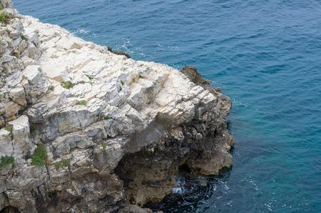 extending: Rocky Coast Extending into the Sea