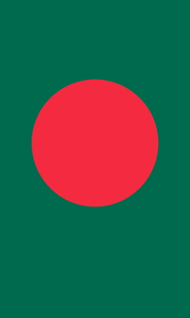 large size: Official Flag of Bangladesh Flat Large Size Vertical
