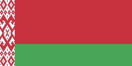 belarusian ethnicity: Official Large Flat Flag of Belarus Horizontal