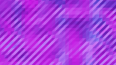 Purple and Magenta Low Poly Triangles Diagonal Abstract Background