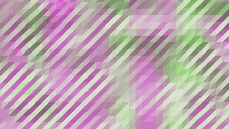 Purple and Green Low Poly Triangles Diagonal Abstract Background