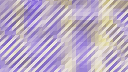 Purple and Yellow Low Poly Triangles Diagonal Abstract Background