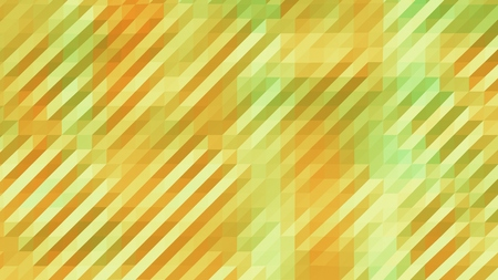 Yellow and Green Low Poly Triangles Diagonal Abstract Background Stock Photo