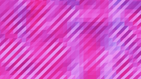 Pink and Purple Low Poly Triangles Diagonal Abstract Background