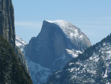 half dome: Half Dome in Yosemite