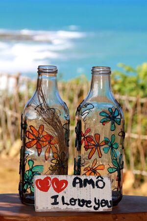 Flaschen ich liebe dich