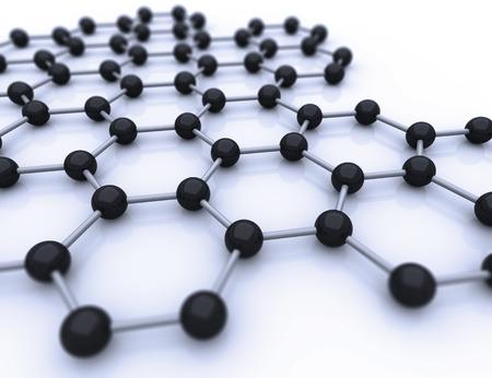 nanotubes: graphene sheet on white background