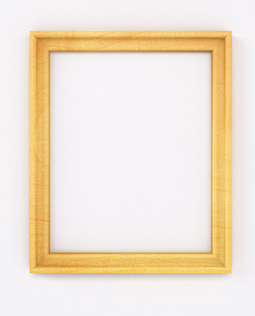 cadre: empty cadre without content. blank vertical portrait frame front view isolated on white background