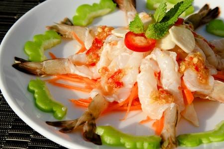 Shrimp in spicy sauce