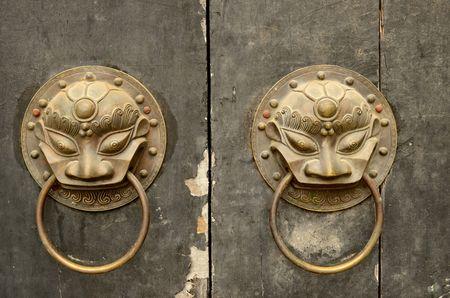 knocker: knocker on the door