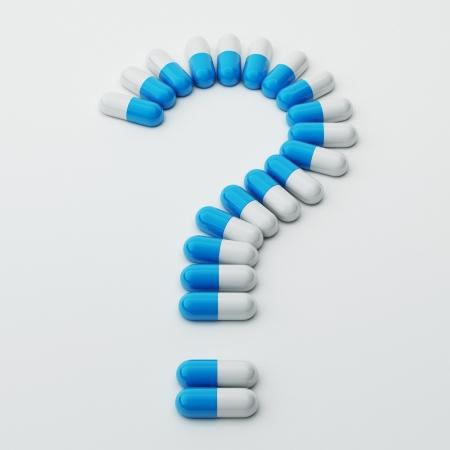 Pills Question Mark