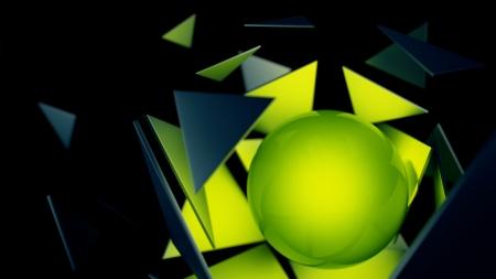 explotion: Abstract Explotion Stock Photo