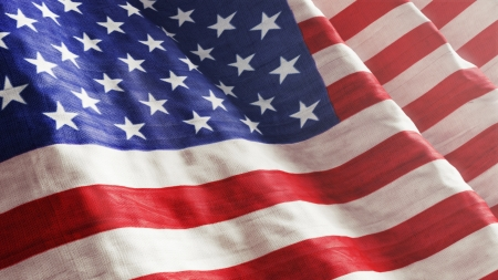 american flag waving: American Flag Stock Photo