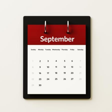 September Calendar Planning