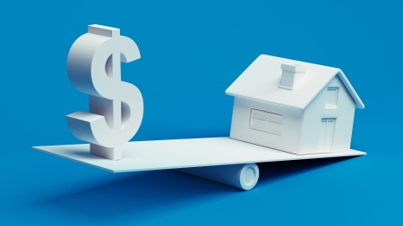 Real Estate Finance Stock Photo