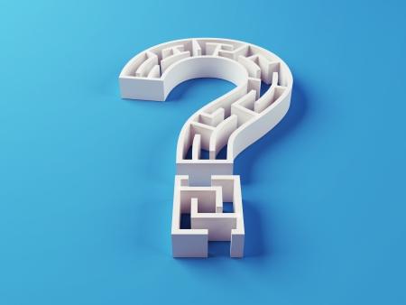 Question Maze puzzle