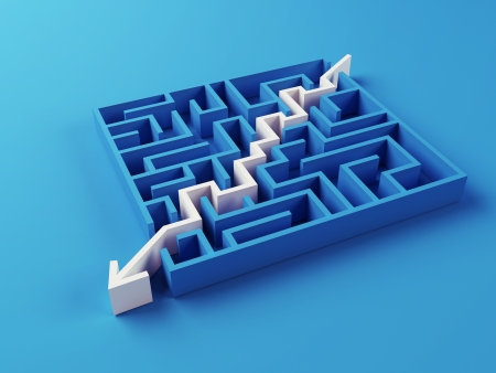 effortless: Solved Maze puzzle