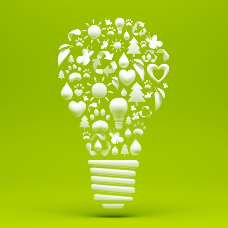 Recycle Light Bulb photo