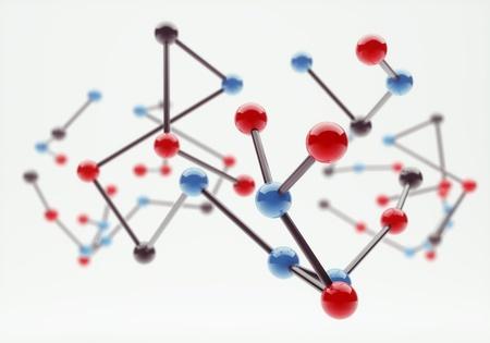 molecular structure: Molecular Structure Stock Photo