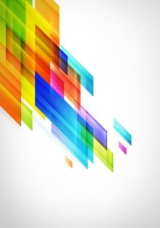 Kleur squeare Achtergrond