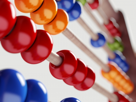 Colorful Abacus photo