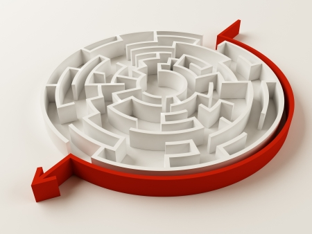 Solved Maze puzzle