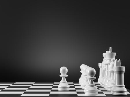 first step: Schach-Strategie Der erste Schritt