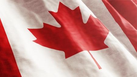 Canadese vlag Stockfoto