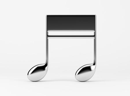 nota musical: Corcheas Nota de la m�sica