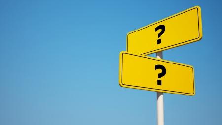 question mark: Domanda di orientamento