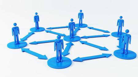 team communication: Team Communication Stock Photo
