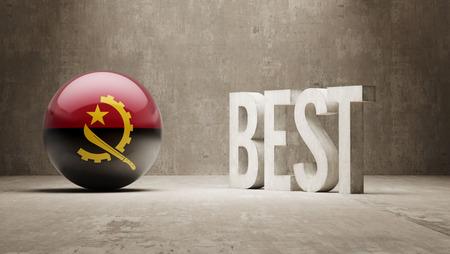 optimum: Angola High Resolution Banks  Concept Stock Photo