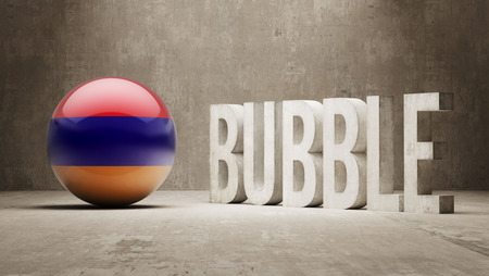 overvalued: Armenia High Resolution Bubble  Concept
