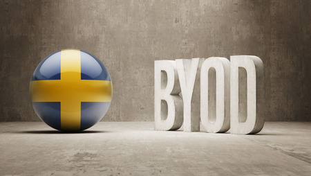 Sweden High Resolution Byod  Concept photo
